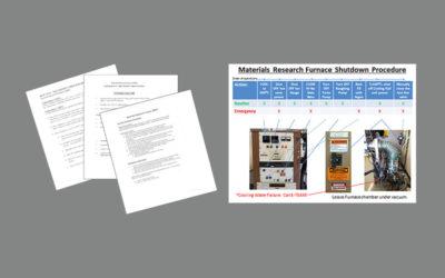 Furnace Shutdown Procedure