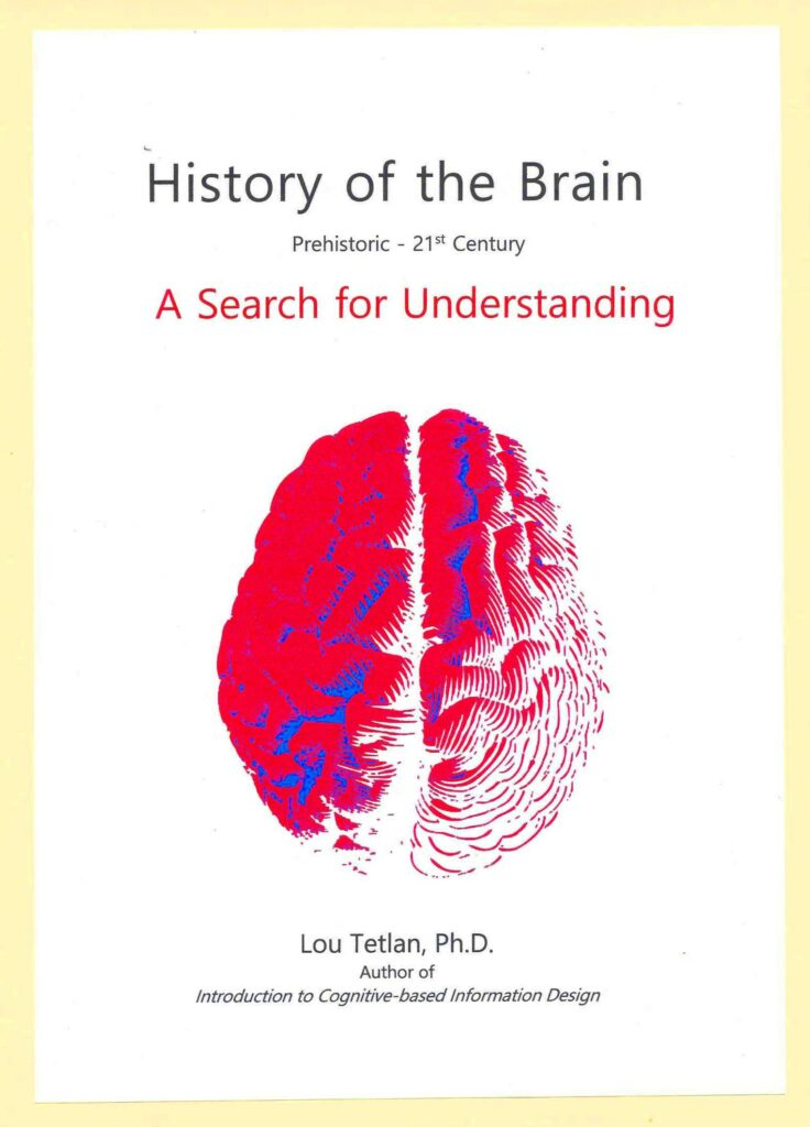 History of the Brain  A Search for Understandin by Lou Tetlan, Ph.D.